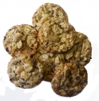 Bio-Vitalgebäck mit Erdnüssen und Cashewkernen