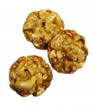 Vitalgebäck mit Cashewkernen und Erdnüssen